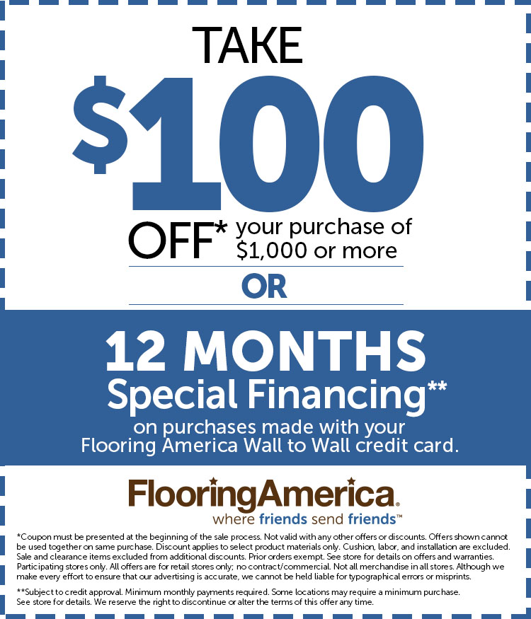 Want 100 Off Your Flooring Purchase View Details And